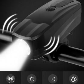Lampu Alarm Klakson Sepeda Waterproof Anti Theft - SJ-10530 - Black - 8