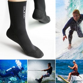 Kaos Kaki Selam Scuba Diving Socks Size L - HW - Black