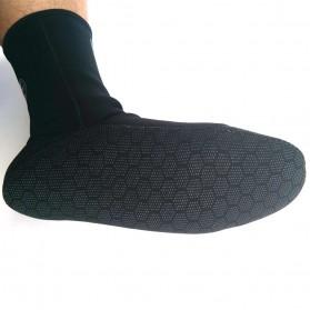 Kaos Kaki Selam Scuba Diving Socks Size XL - HW - Black - 3