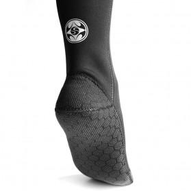 Kaos Kaki Selam Scuba Diving Socks Size XL - HW - Black - 4