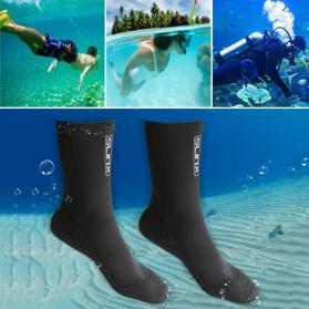 Kaos Kaki Selam Scuba Diving Socks Size XL - HW - Black - 6