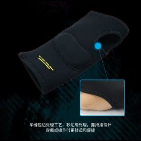 Exco Sarung Tangan Professional Gaming Ergonomic Glove - MSP-018 - Black - 5