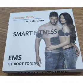 TOMSHOO Alat Stimulator Terapi EMS Otot Six Pack Muscle Stimulator Fat Burner - Black - 9