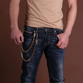 Silfer Rantai Self Defense Weapon Martial Arts Hand Bracelet - xl017 - Silver - 6