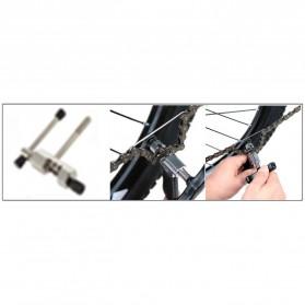 TaffSPORT 4 in 1 Perlengkapan Reparasi Rantai Sepeda Bicycle Chain Socket Tool Set - BT2919 - Silver - 4
