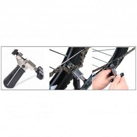 VXM 5 in 1 Perlengkapan Reparasi Rantai Sepeda Bicycle Chain Socket Tool Set - Silver - 2