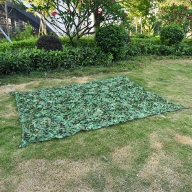 HURRISE Jaring Net Kamuflase Camping Camouflage Net Hidden Hunting Shooting 2x3 Meter - Green