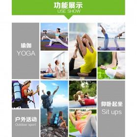 Karpet Pilates Yoga Mat Anti Slip TPE 183 x 61 CM - SD11002 - Dark Blue - 3