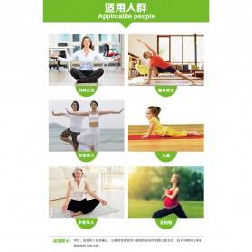 Karpet Pilates Yoga Mat Anti Slip TPE 183 x 61 CM - SD11002 - Dark Blue - 4