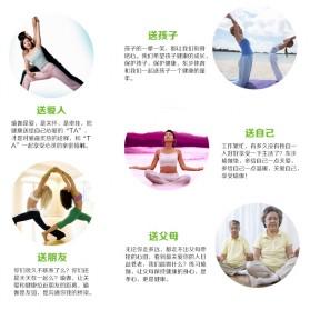 Karpet Pilates Yoga Mat Anti Slip TPE 183 x 61 CM - SD11002 - Dark Blue - 5