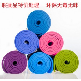 Karpet Pilates Yoga Mat Anti Slip TPE 183 x 61 CM - SD11002 - Dark Blue - 6