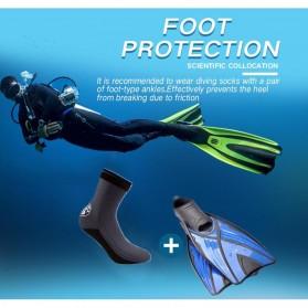 Scuba Donkey Kaos Kaki Selam Scuba Diving Socks Size XL - 214SP - Gray - 2