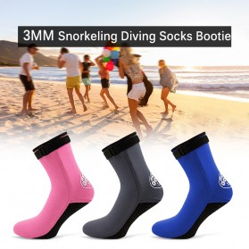 Scuba Donkey Kaos Kaki Selam Scuba Diving Socks Size XL - 214SP - Gray - 3