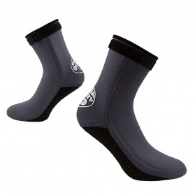 Scuba Donkey Kaos Kaki Selam Scuba Diving Socks Size XL - 214SP - Gray - 6