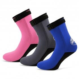 Scuba Donkey Kaos Kaki Selam Scuba Diving Socks Size XL - 214SP - Gray - 7