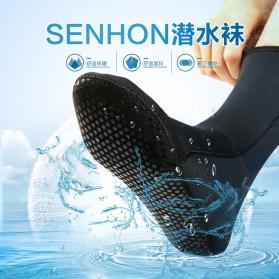 Scuba Donkey Kaos Kaki Selam Scuba Diving Socks Size L - 214SP - Gray - 2