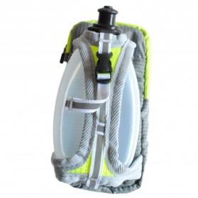 CLEVER BEES Tas Holder Botol Minum Olahraga Running Armbag - L76 - Gray - 2