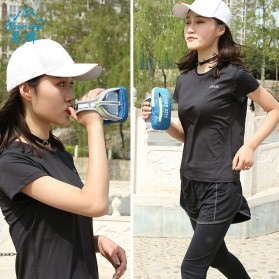 CLEVER BEES Tas Holder Botol Minum Olahraga Running Armbag - L76 - Gray - 3