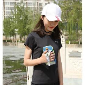CLEVER BEES Tas Holder Botol Minum Olahraga Running Armbag - L76 - Gray - 6