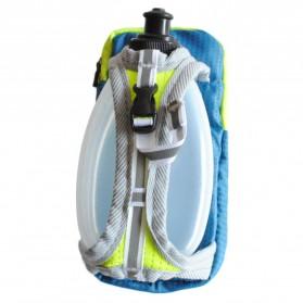 CLEVER BEES Tas Holder Botol Minum Olahraga Running Armbag - L76 - Blue - 2