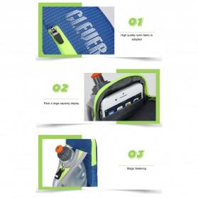 CLEVER BEES Tas Holder Botol Minum Olahraga Running Armbag - L76 - Blue - 7