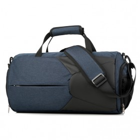CLEVER BEES Tas Duffel Olahraga Yoga Gym Fitness dan Travel - L116 - Navy Blue