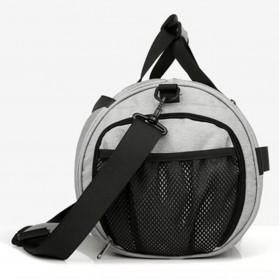 CLEVER BEES Tas Duffel Olahraga Yoga Gym Fitness dan Travel - L118 - Navy Blue - 2
