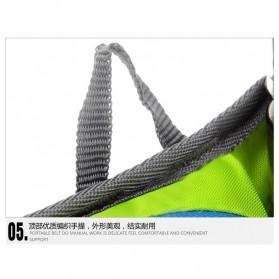 CLEVER BEES Tas Pinggang Holder Botol Minum Sporty Waist Bag - L11 - Black - 9