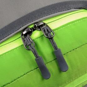 CLEVER BEES Tas Pinggang Sporty Waistbag Model Bladder - L29 - Blue - 5