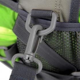 CLEVER BEES Tas Pinggang Sporty Waistbag Model Bladder - L29 - Blue - 6