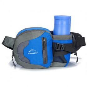 NOBLELION Tas Pinggang Holder Botol Minum Sporty Waist Bag - L31 - Blue