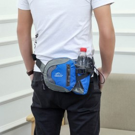 NOBLELION Tas Pinggang Holder Botol Minum Sporty Waist Bag - L31 - Blue - 7