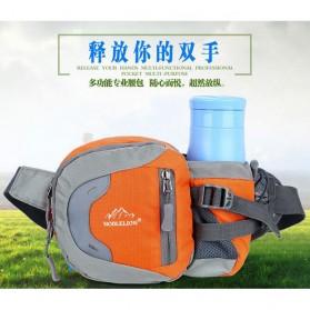NOBLELION Tas Pinggang Holder Botol Minum Sporty Waist Bag - L31 - Blue - 8