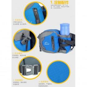NOBLELION Tas Pinggang Holder Botol Minum Sporty Waist Bag - L31 - Blue - 9