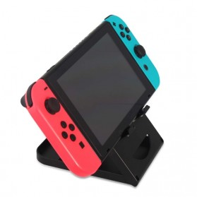 DOBE Stand Holder Lipat Adjustable Foldable ABS Compact Bracket for Nintendo Switch - SW31 - Black - 2
