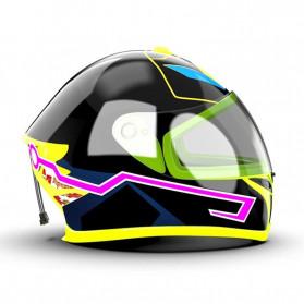 OLPAY Sticker Lampu Helm LED Light Strip Night Signal Luminous Waterproof - Nz1698 - Pink - 5