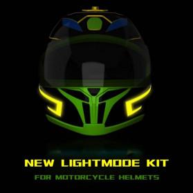 OLPAY Sticker Lampu Helm LED Light Strip Night Signal Luminous Waterproof - Nz1698 - Pink - 8