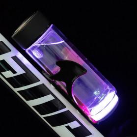 B-Soul Holder Botol Minum Sepeda MTB with LED Light - U4 - Black