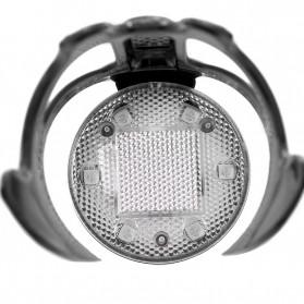 B-Soul Holder Botol Minum Sepeda MTB with LED Light - J-112 - Black - 5