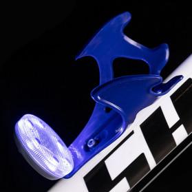B-Soul Holder Botol Minum Sepeda MTB with LED Light - J-112 - Black - 8