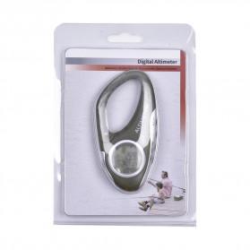 ANENG Alat Altimeter Barometer Thermometer Weather Forecast Hiking Karabiner - JN4-5 - Green - 10