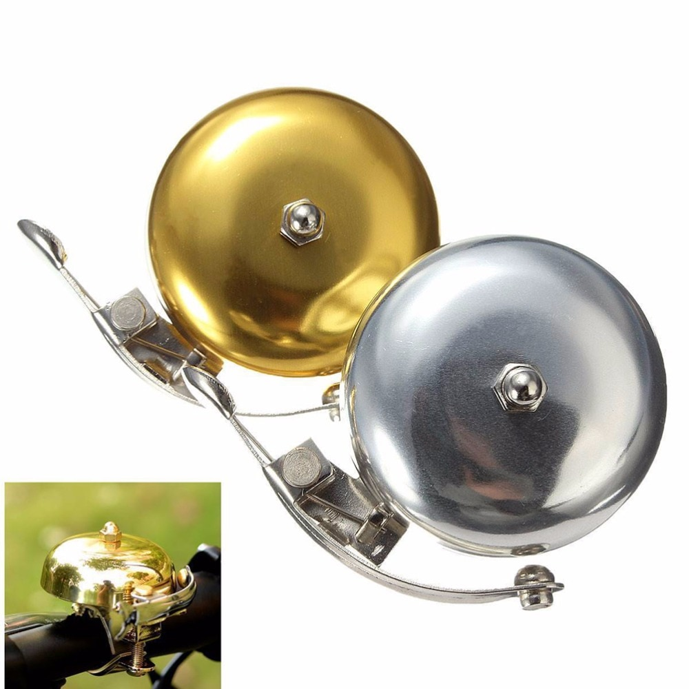 Cycle Zone Bell Sepeda Mini Retro Bicycle Cycling Horn Se63 Golden Jakartanotebook Com
