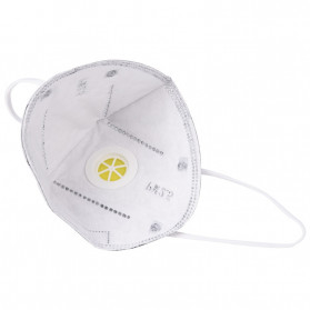 CkeyiN Masker Filter Udara Anti Polusi Respirator PM2.5 5 PCS - MD023G - Gray - 7