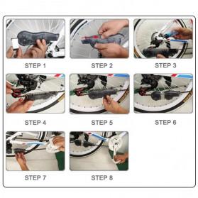 VG Sports Pembersih Rantai Sepeda Bike Chain Cleaner - XR-1 - Black - 11