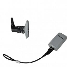 Master Lock Gembok Koper Hanging Safebox Padlock Kode Angka 3 Digit  - 5408D - Silver - 4