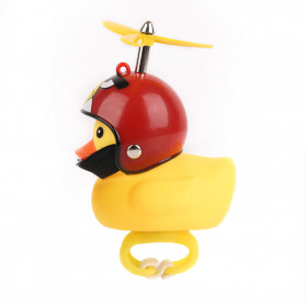 GMARTY Bell Sepeda Anak Bebek Rubber Duck Angry Birds with LED Light - YQ153 - Yellow