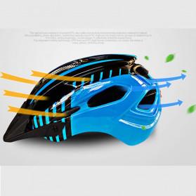 ZTTO Helm Sepeda EPS Bike Helmet Styrofoam PC - WX-026 - Yellow - 4