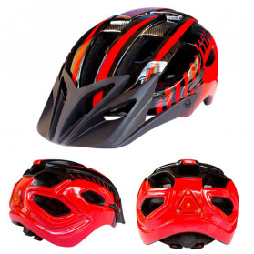 ZTTO Helm Sepeda EPS Bike Helmet Styrofoam PC - WX-026 - Red