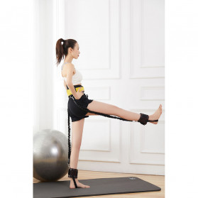 ITSTYLE Tali Stretching Yoga Fitness Power Resistance - SG005 - Black - 2