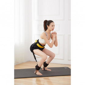 ITSTYLE Tali Stretching Yoga Fitness Power Resistance - SG005 - Black - 7